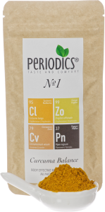 Periodics® №1 Body effective spice blend from turmeric, ginger, cinnamon and pepper
