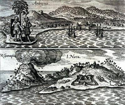 Amboyna Fort 1655