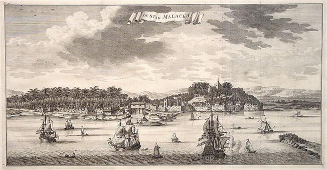Malacca Malakka 1726
