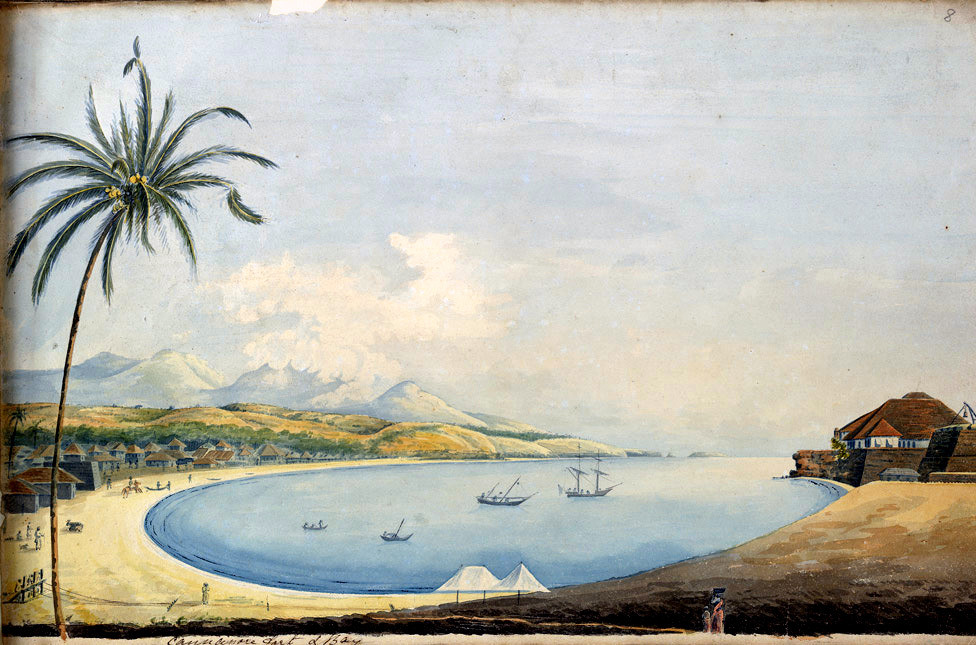 Cannonore Fort & Bay 1800