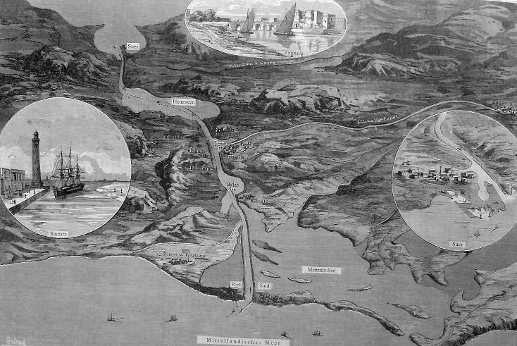 Suez Canal 1882