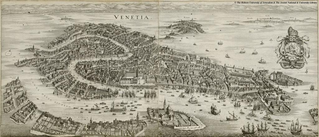 Venice Venedig 1650