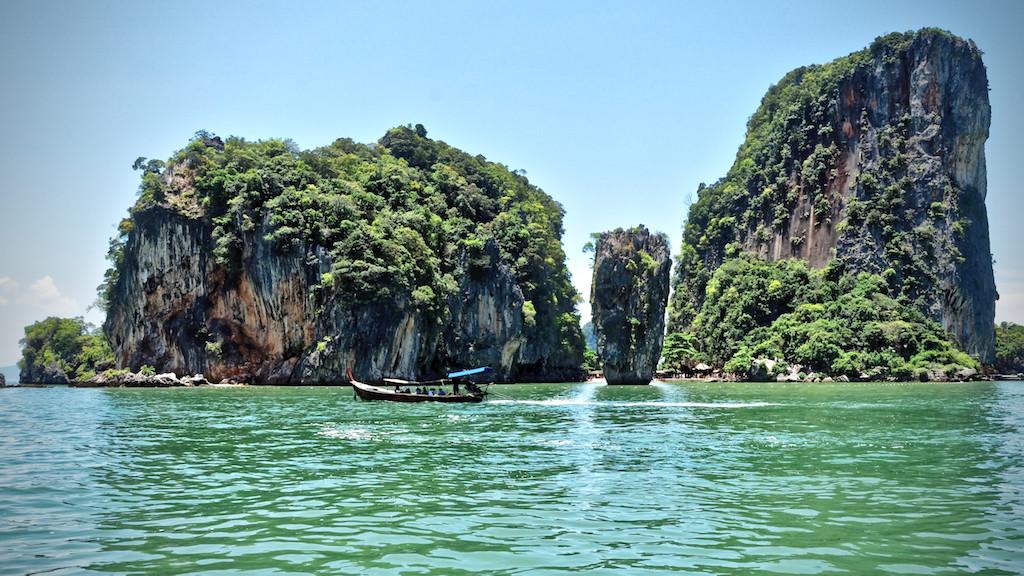 Khao Phing Kan - die James Bond-Insel nordöstlich von Phuket