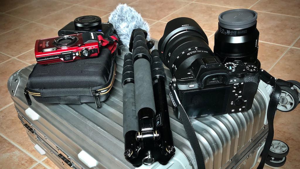 Kleine Foto-Ausrüstung für die Urlaubsreise