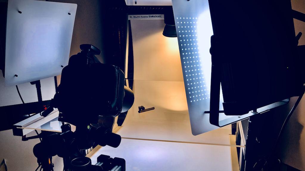 Makro-Fotografie und Fokus-Stacking im Wohnzimmer-Studio