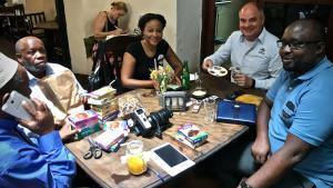 Spice sampling at Zanzibar Coffee House