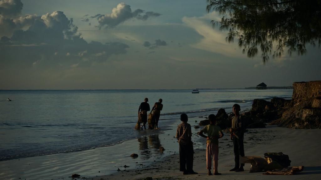 Sonnenaufgang fotografieren am Strand von Kiwengwa Sansibar