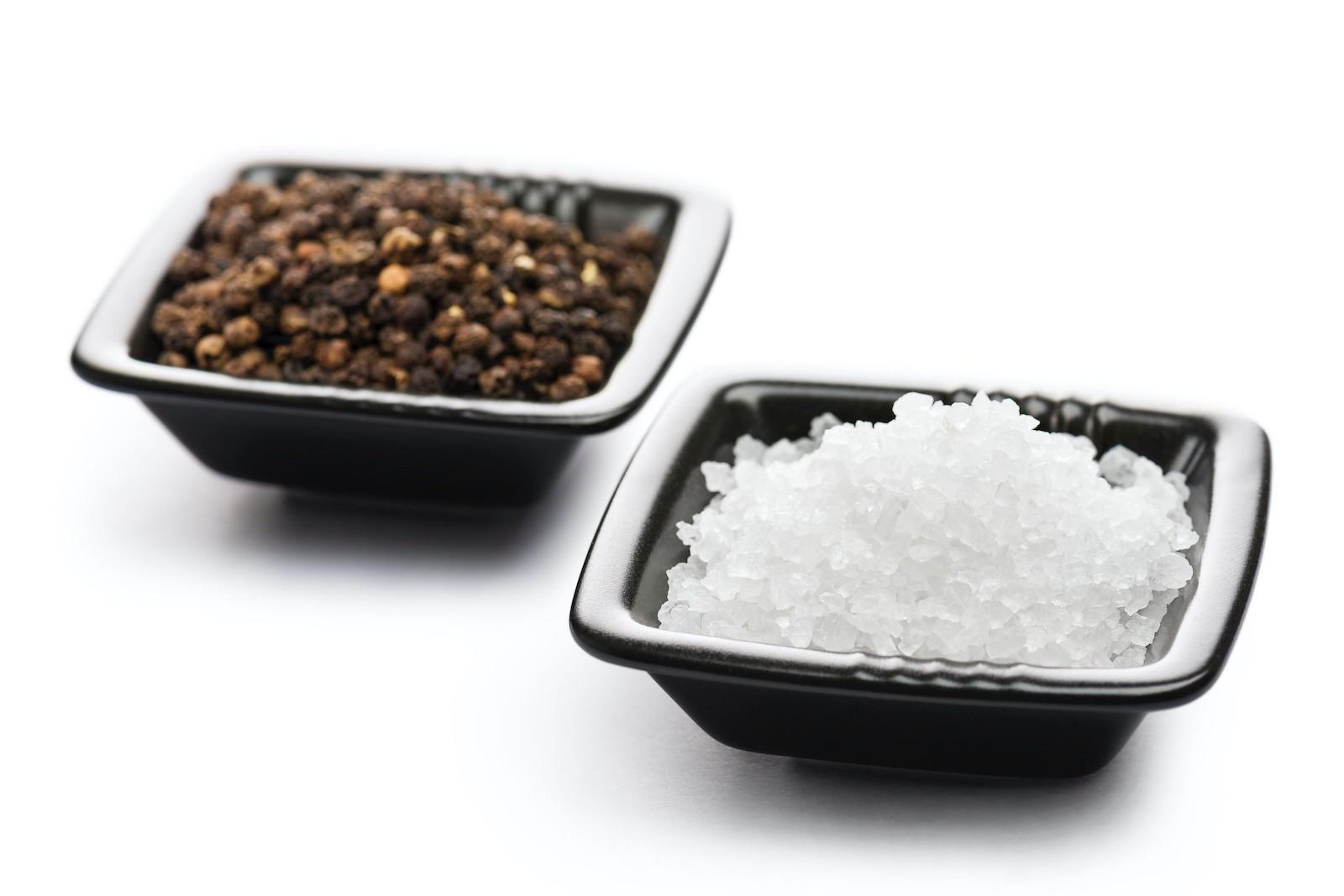 Mit Salz und Pfeffer abschmecken ist genug gewürzt