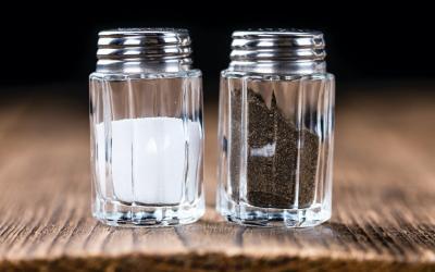 Mit Salz und Pfeffer abschmecken ist genug gewürzt. So, ist es das?