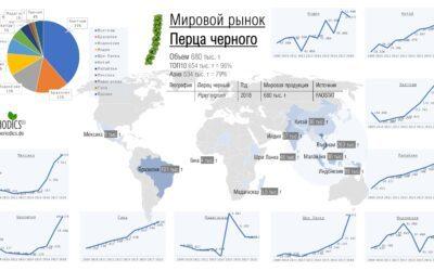 Мировой рынок перца черного – Инфографика (ru_RU)